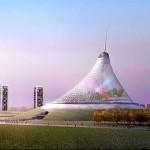 Най-високата шатра в света – Khan Shatyr в Казахстан