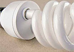 Спестяване на енергия чрез използване на компактни флуоресцентни крушки